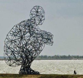 Anthony Gormley. EXPOSURE, 2010. Lelystad.