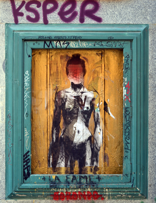 La Fame Borondo Madrid_street art Solucionista