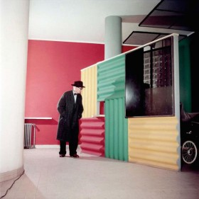 Le Corbusier (en color) por Willy Rizzo