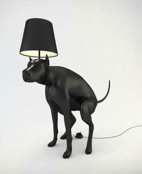 Pooping Dog Lamps / Whatshisname