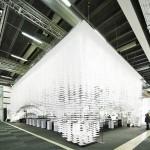 Gert Wingårdh para Stockholm Furniture and Light Fair_arquitectura efímera Solucionista