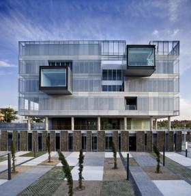 Popurrí arquitectónico: Comisaría Fuencarral-El Pardo, Madrid.