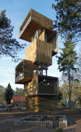 En la cabaña del árbol: Viewing Tower, de Ateliereen architecten