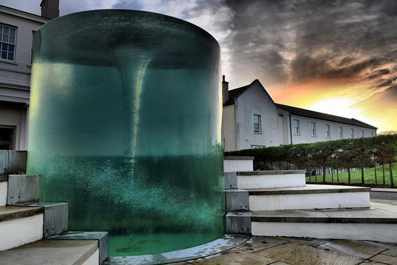 Vortex Water Sculpture - William Pye
