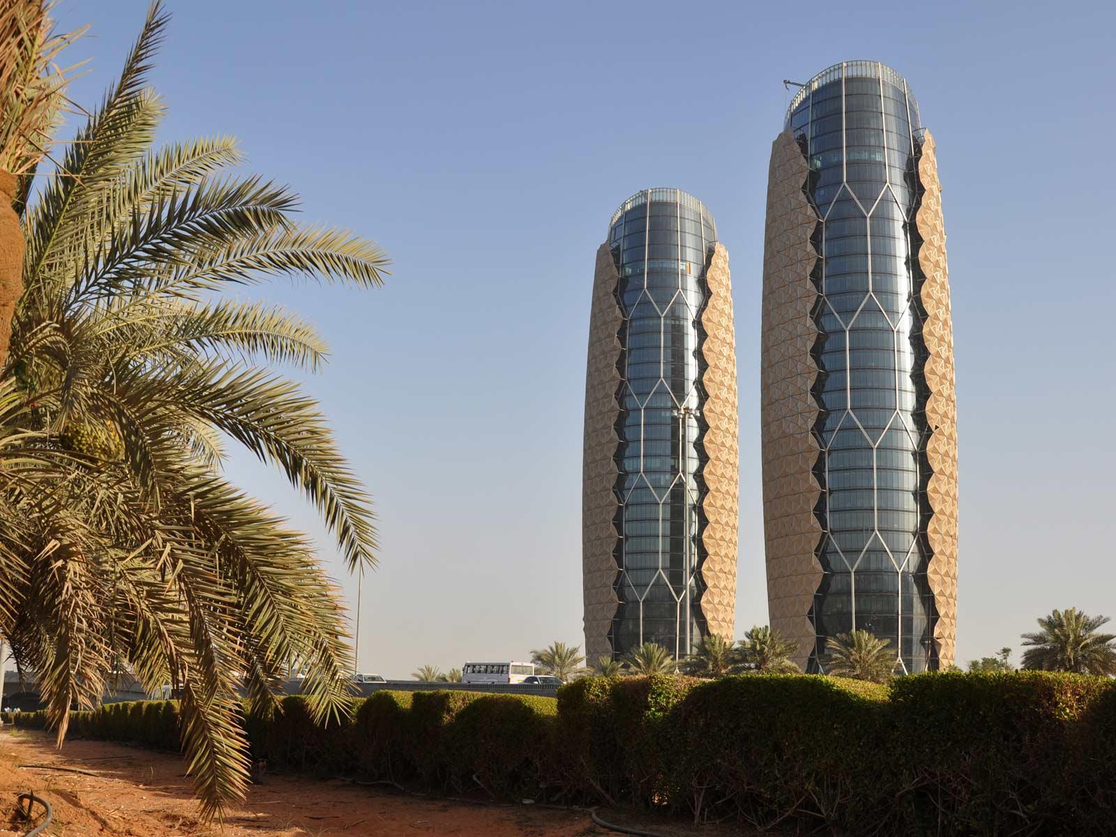 Al bahar towers abu dhabi arquitectura rascacielos for Al manzool decoration abu dhabi