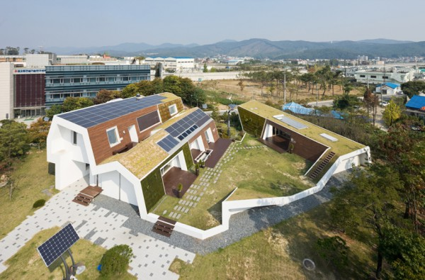 Máquina para vivir: E+ Green Home, de Unsangdong Architects