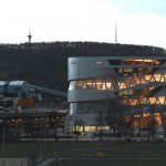 Mercedes-Benz Museum tornado arquitectura tecnología Solucionista